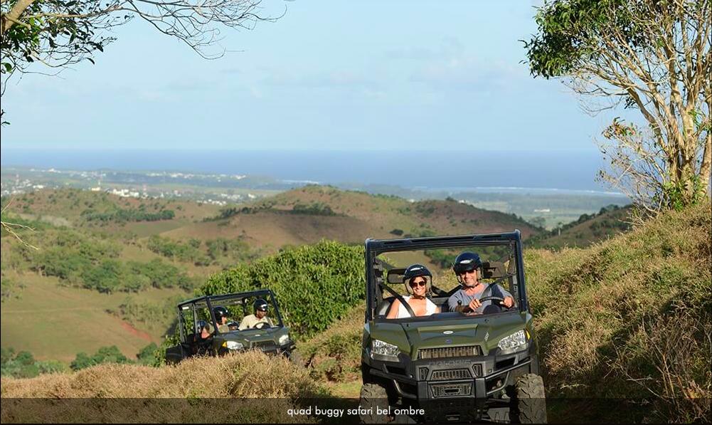 Rebellissime Domaine de Bel Ombre Safari quad