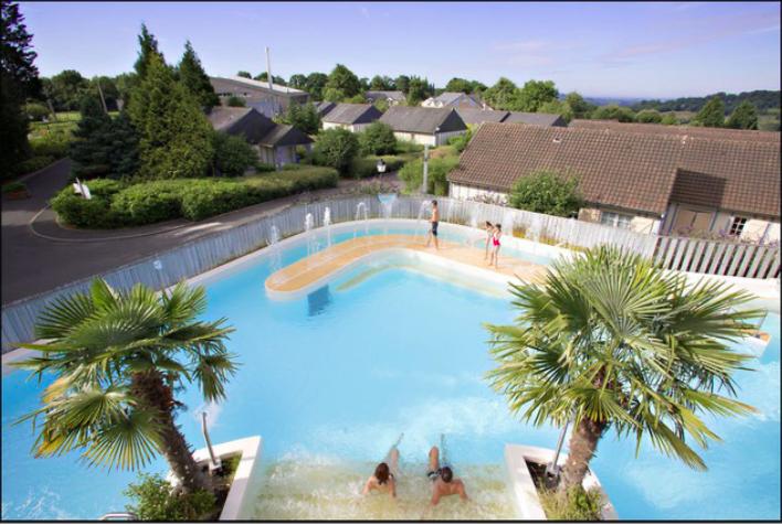 Rebellissime Normandy Garden piscine
