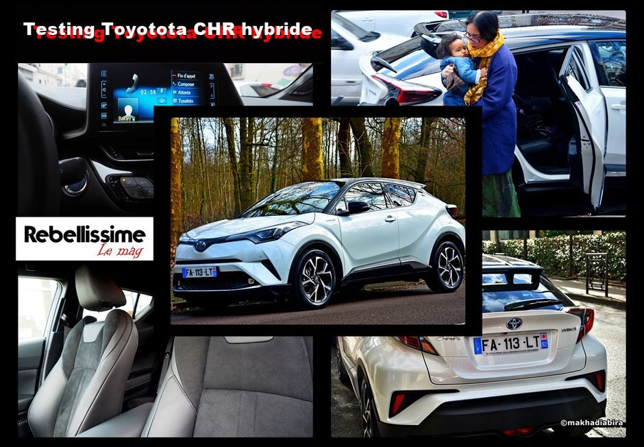 Rebellissime testing Toyota Leaf