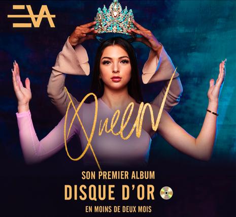 Rebellissime Eva Queen disque d'or