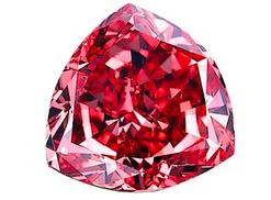 Diamant de couleur rouge