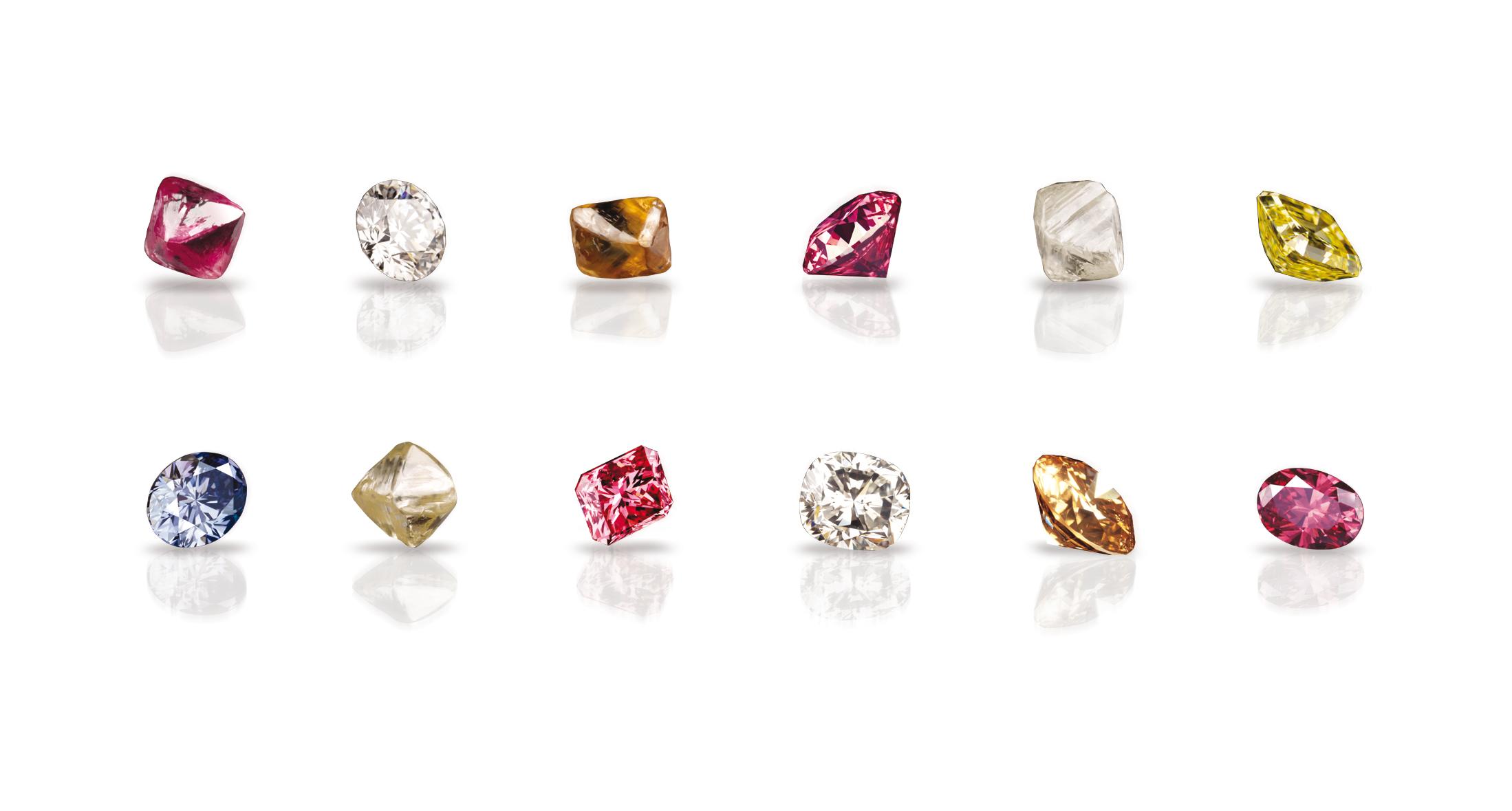 Diamants de couleur
