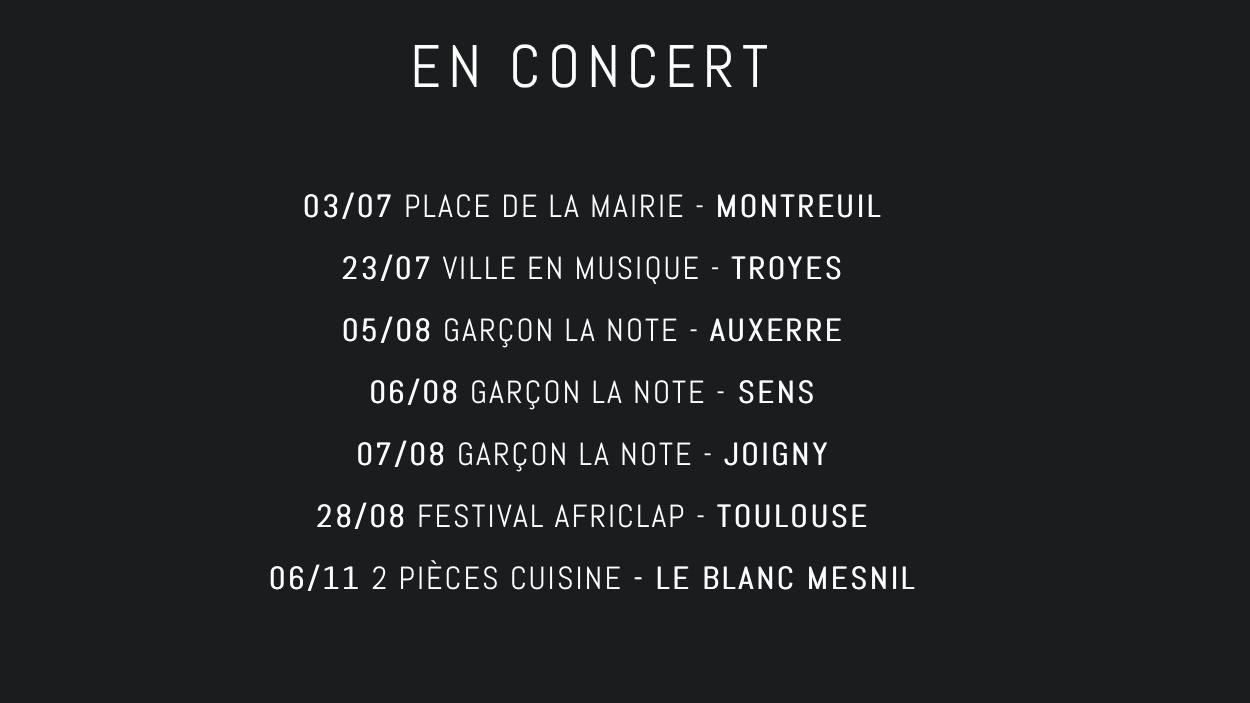 Bab El West en concert 2021