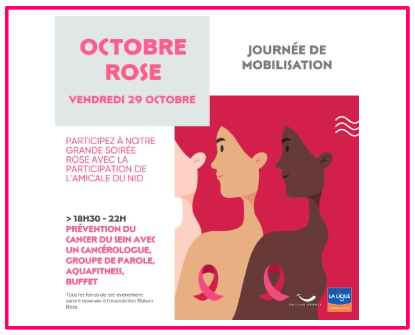 Rebel Octobre Rose Dôme